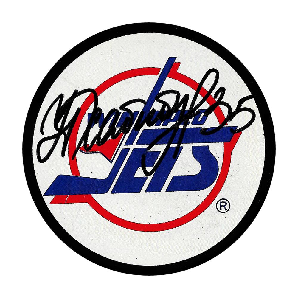 Nikolai Khabibulin Autographed Winnipeg Jets Puck