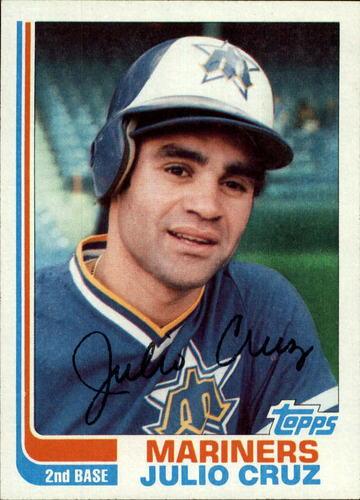 Photo of 1982 Topps #130 Julio Cruz