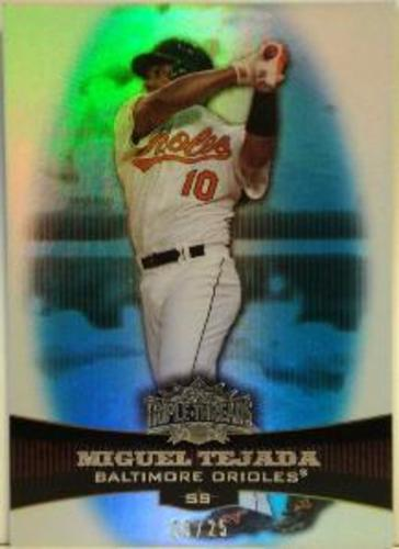 Photo of 2006 Topps Triple Threads Sapphire #33 Miguel Tejada