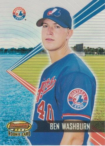 Photo of 2001 Bowman's Best #167 Ben Washburn RC