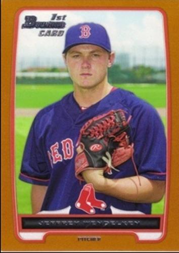 Photo of 2012 Bowman Draft Draft Picks Orange #BDPP89 Jeffrey Wendelken