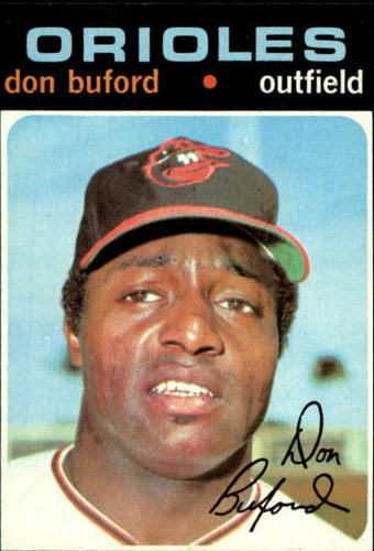 Photo of 1971 Topps #29 Don Buford