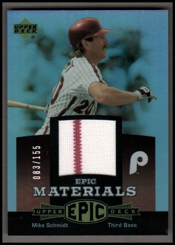 Photo of 2006 Upper Deck Epic Materials Red #MS3 Mike Schmidt Jsy/155