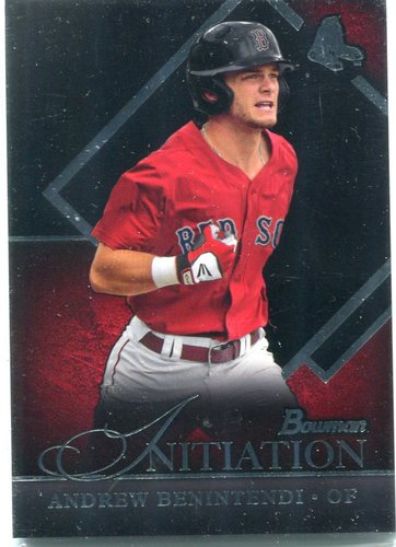 Photo of 2015 Bowman Draft Initiation  Andrew Benintendi
