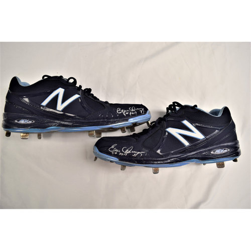 Evan Longoria Autographed Cleats Benefitting Pet Pal Animal Shelter