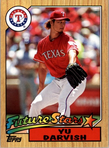 Photo of 2012 Topps 1987 Topps Minis #TM112 Yu Darvish