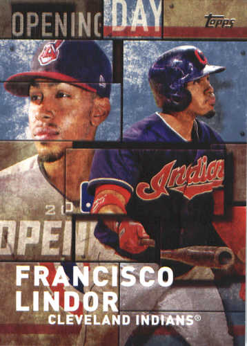 Photo of 2018 Topps Opening Day Insert #OD14 Francisco Lindor