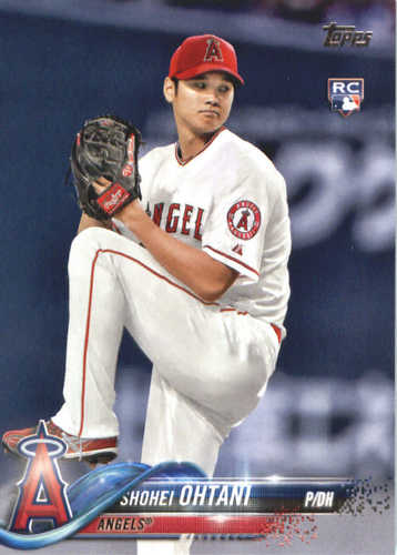Photo of 2018 Topps #700 Shohei Ohtani RC