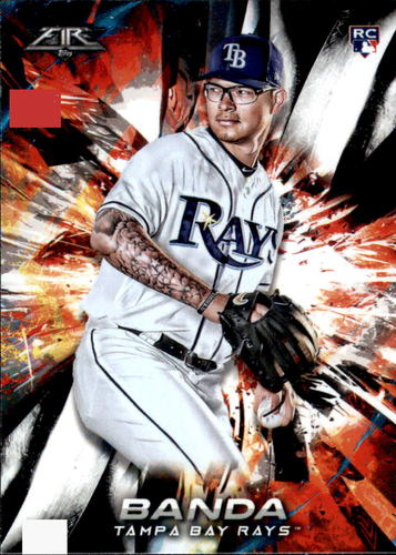 Photo of 2018 Topps Fire #36 Anthony Banda RC