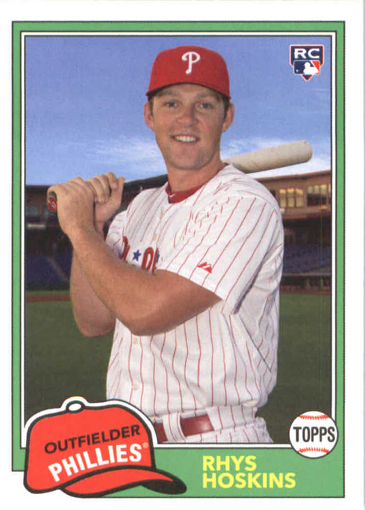 2018 Topps Archives #217 Rhys Hoskins RC