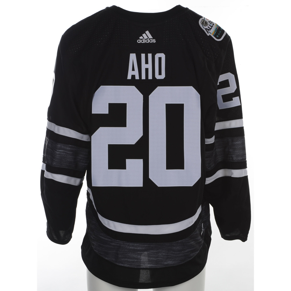 Sebastian Aho Carolina Hurricanes Game-Used 2019 All-Star Game Jersey