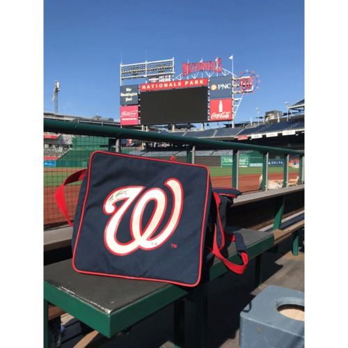 Photo of Max Scherzer Autographed Equipment Bag