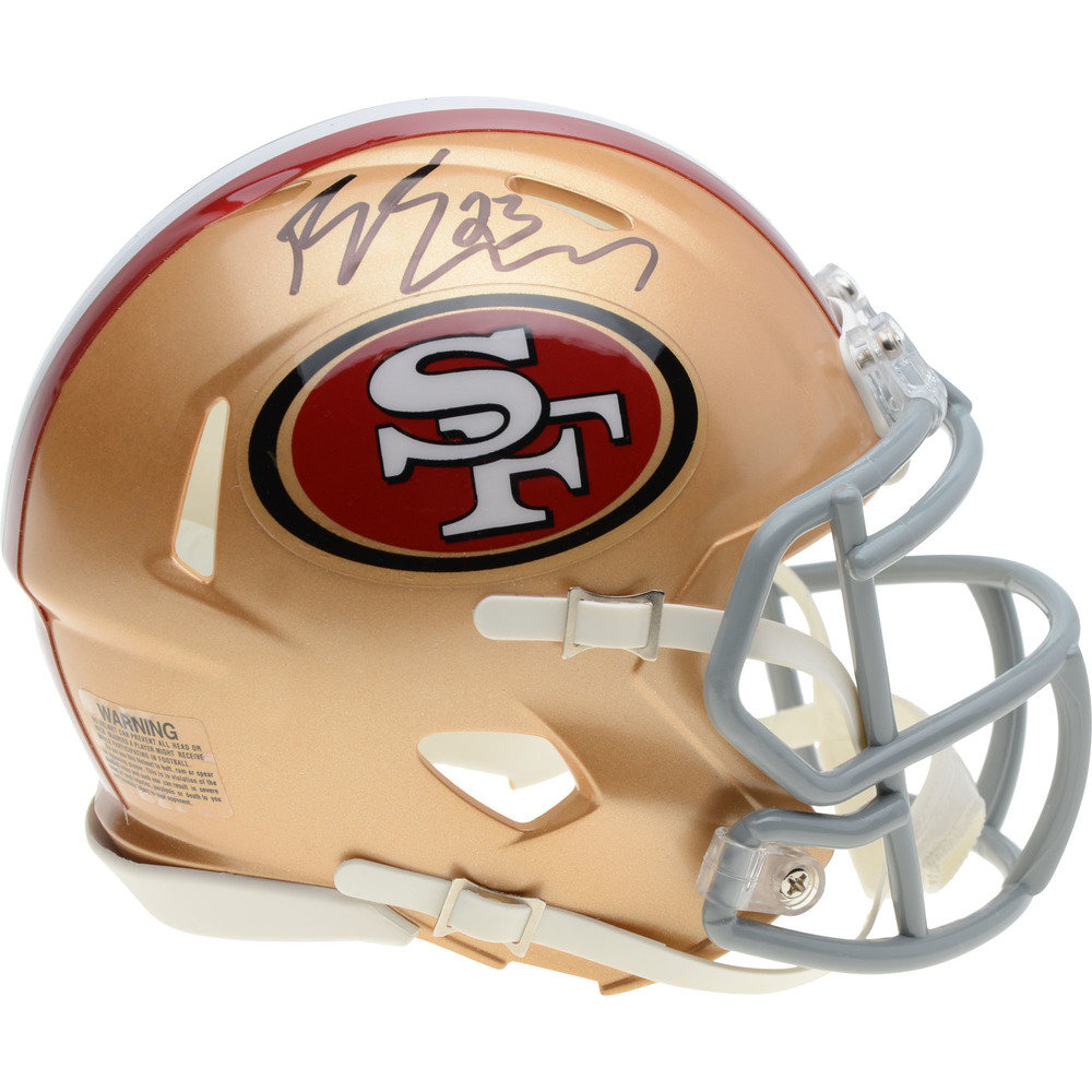 Barclay Goodrow San Jose Sharks Autographed San Francisco 49ers Mini Helmet