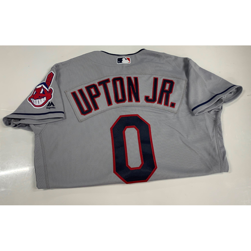 Photo of Melvin Upton Jr. Team Issued Road Jersey