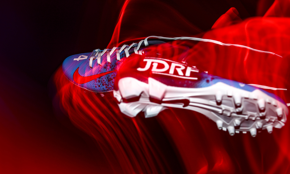 My Cause My Cleats - Houston Texans DeAndre Carter Signed Custom Game Worn Cleats