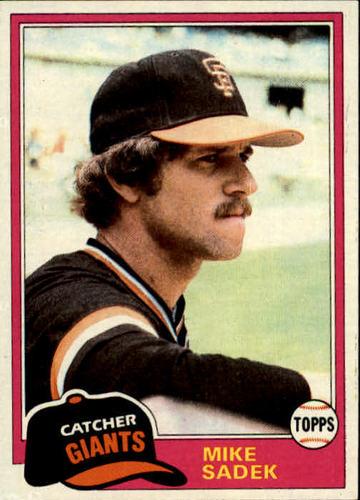 Photo of 1981 Topps #384 Mike Sadek
