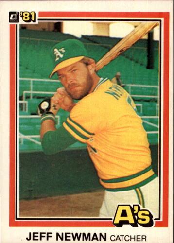 Photo of 1981 Donruss #477 Jeff Newman