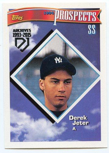 Photo of 2017 Topps Archives Derek Jeter Retrospective #DJ2 Derek Jeter/'94 Topps REPRINT