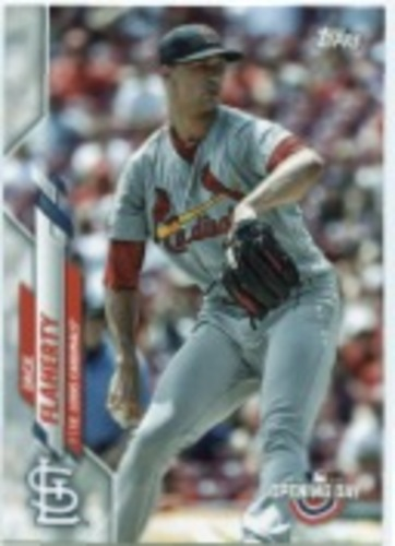 Photo of 2020 Topps Opening Day #76 Jack Flaherty