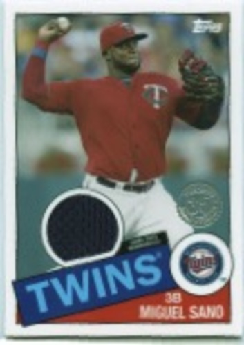 Photo of 2020 Topps '85 Topps Relics #85TRMSA Miguel Sano