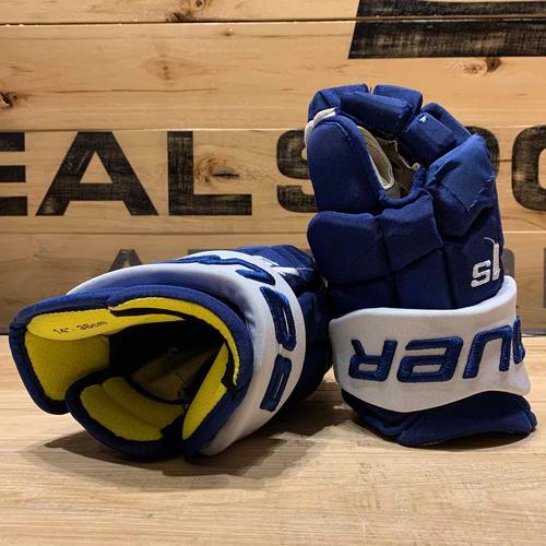 Justin Holl 2020-21 Game Worn Gloves