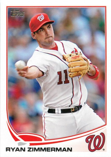 Photo of 2013 Topps #80 Ryan Zimmerman