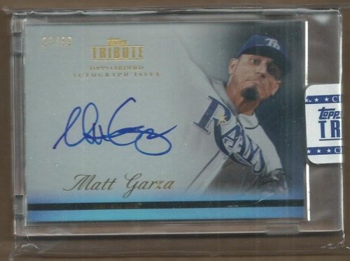 Photo of 2012 Topps Tribute Autographs #MG2 Matt Garza
