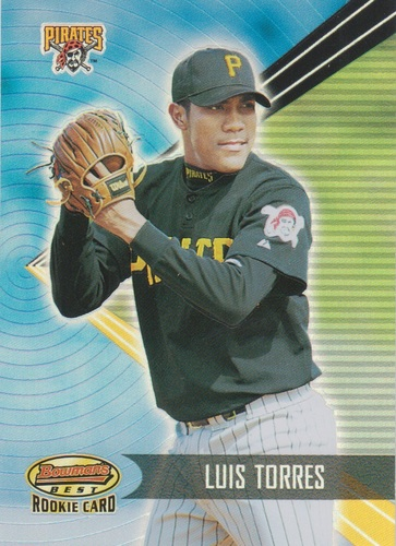 Photo of 2001 Bowman's Best #177 Luis Torres RC