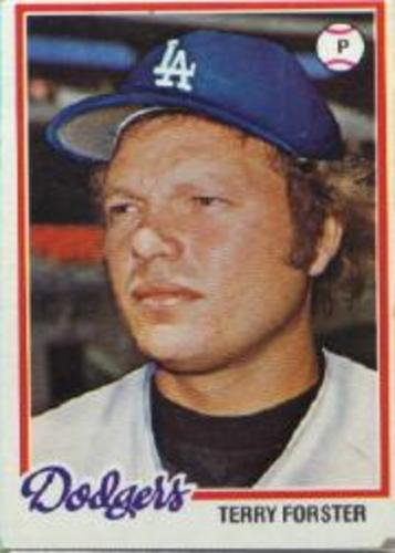Photo of 1978 Topps #347 Terry Forster