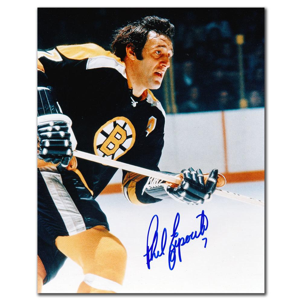 Phil Esposito Boston Bruins BREAKOUT Autographed 8x10