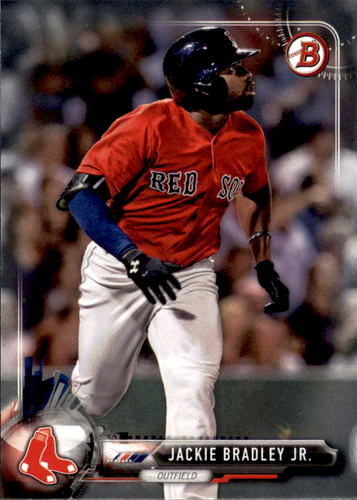 Photo of 2017 Bowman #82 Jackie Bradley Jr.