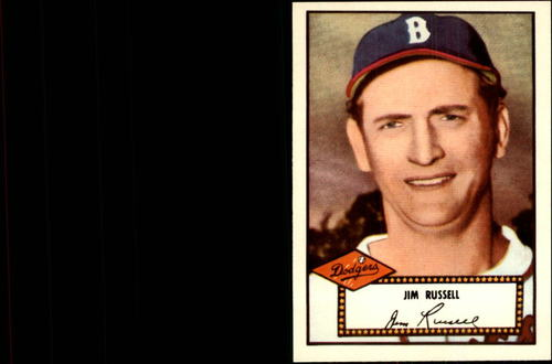 Photo of 1983 Topps 1952 Reprint #51 Jim Russell