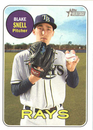 Photo of 2018 Topps Heritage #54 Blake Snell