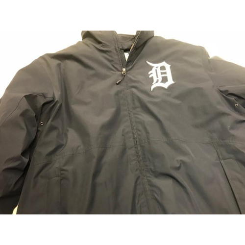Photo of 2013 Team-Issued Detroit Tigers #41 Home Bench Jacket: Inner and Outer Layers