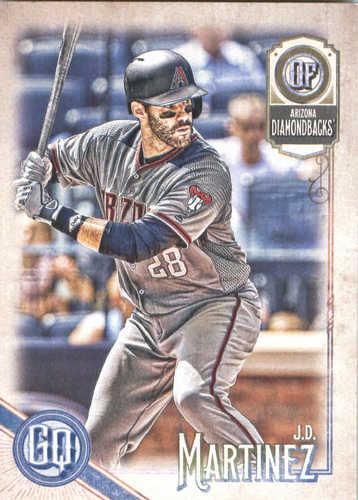 Photo of 2018 Topps Gypsy Queen #169 J.D. Martinez
