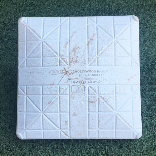 Photo of Game Used Base - Subway Series - 3rd Base, Innings 1-3 - Mets vs. Yankees - 6/10/18