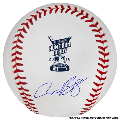 Photo of Alex Bregman Houston Astros Autographed 2018 MLB Home Run Derby Baseball - PRESALE