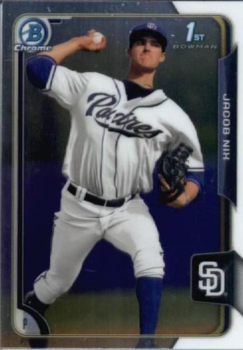 Photo of 2015 Bowman Chrome Draft #143 Jacob Nix