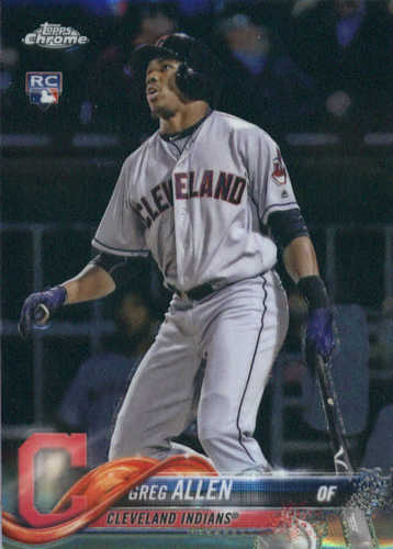 Photo of 2018 Topps Chrome #84 Greg Allen RC