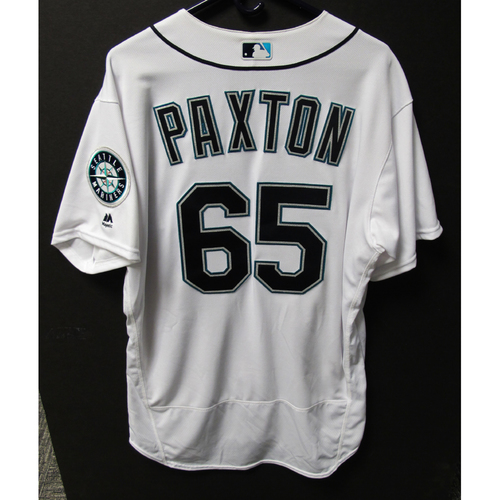 size 40 8418a 1a919 MLB Auctions | Seattle Mariners James Paxton Game-Used Home ...