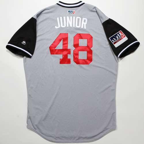 "Photo of Joakim ""Junior"" Soria Chicago White Sox Team-Issued 2018 Players' Weekend Jersey"