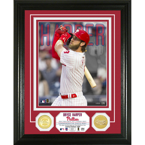 Photo of Bryce Harper Bronze Coin Photo Mint