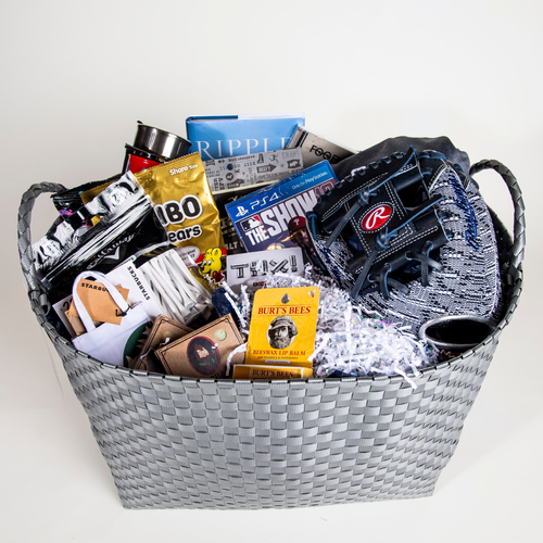 "Photo of Padres Coaches ""Favorite Things"" Basket"
