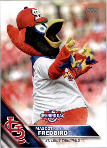 Photo of 2016 Topps Opening Day Mascots #M20 Fredbird