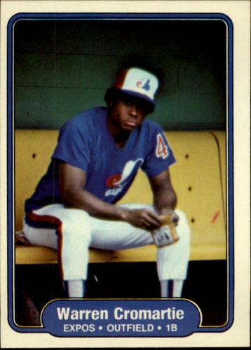 Photo of 1982 Fleer #186 Warren Cromartie