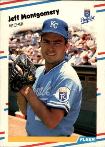 Photo of 1988 Fleer Update #32 Jeff Montgomery