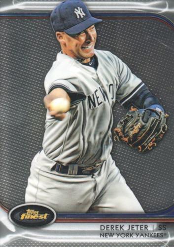 Photo of 2012 Finest #5 Derek Jeter