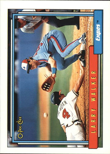 Photo of 1992 O-Pee-Chee #531 Larry Walker