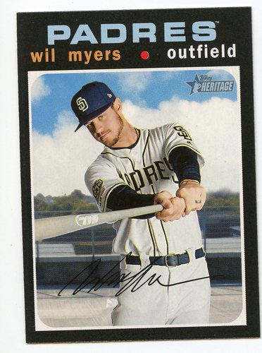 Photo of 2020 Topps Heritage #97 Wil Myers