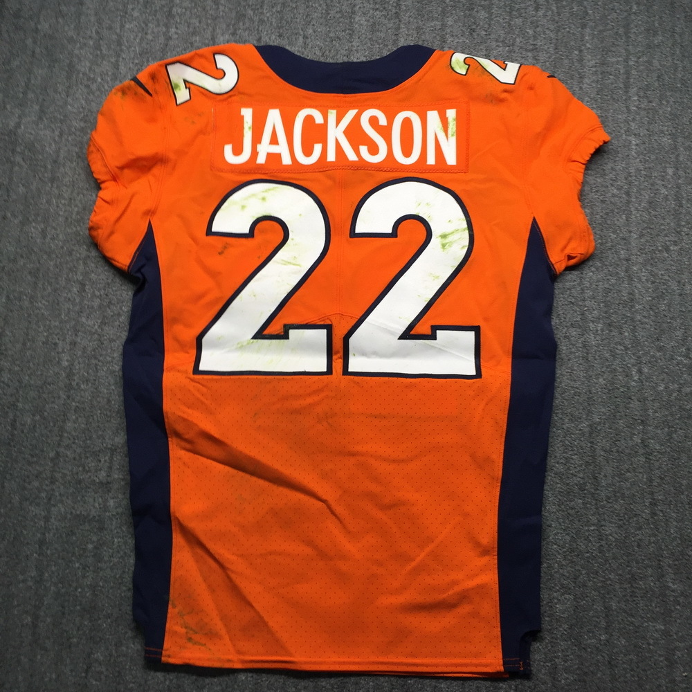 NFL Auction | Crucial Catch - Broncos Kareem Jackson Game Used ...